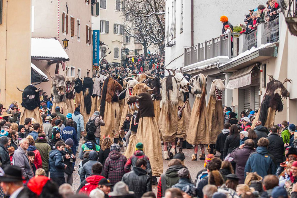 Fasching in Südtirol